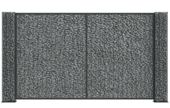 gabion w gabionie słup lucca air panel lucca 32